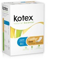 Kotex Natural Balance Light Days Liners, 3 Boxs
