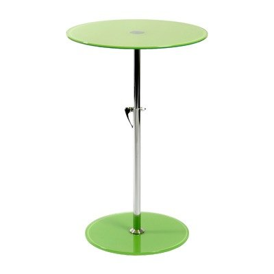 Cheap Green ITALMODERN Rafaella Round Glass End Table (B000UCS05K)