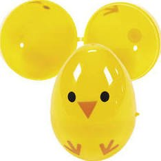 8 Yellow Chick Easter Eggs - Fill Them with Candy