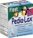 Fleet Pedia-Lax Liquid Glycerin Suppositories Laxative, 6 count (Pack of 3)