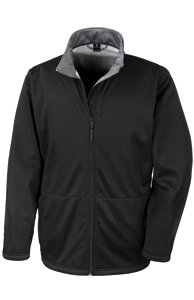 Result Core Mens Core Softshell Jacket - X-Small, Black
