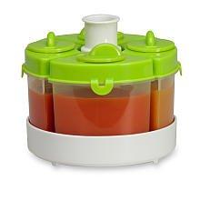 Imagen de Baby Food Brezza System Storage: Quattro en verde