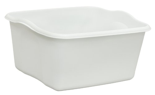 United Solutions BA0006 White Plastic Eighteen Quart Dishpan-18 Quart/17L Dishpan in White (Large Dish Pan compare prices)