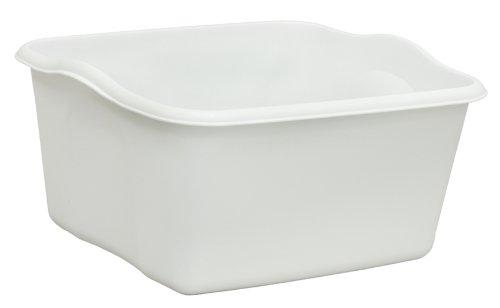 United Solutions BA0006 White Plastic Eighteen Quart Dishpan-18 Quart/17L Dishpan in White (Dish Pan compare prices)