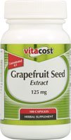 Vitacost Grapefruit Seed Extract -- 125 mg - 100 Capsules