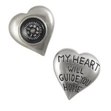 My Heart Will Guide You Home Compasses