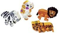 Animals On The Go Erasers, Package of 12