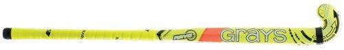 Grays Revo Junior Multicolour Maxi Kopfform Junior Spieler Holz Hockeyschläger - Gelb, 36.5L