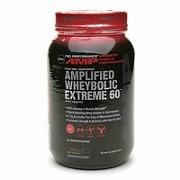 GNC Pro Performance AMP Amplified Wheybolic Extreme 60 Chocolate - 3 Pounds