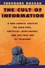 Cult of Information (0394751752) by Roszak, Theodore