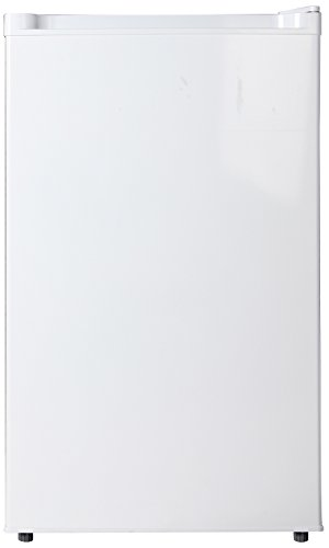 Midea Whs-160Rw1 Compact Single Reversible Door Refrigerator And Freezer, 4.4 Cubic Feet, White