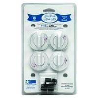 RANGE KLEEN 8234 Gas Range Knobs (4-pk, White) (Tappan Gas Oven Parts compare prices)