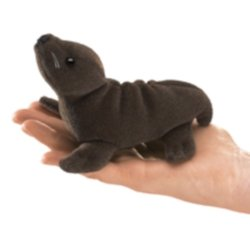 Folkmanis Mini Sea Lion Finger Puppet