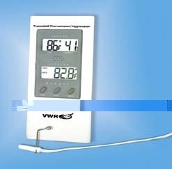 VWR RELATIVE HUMID MONITOR DIG - VWR Digital Humidity/Temperature Monitor with Probe