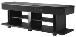 "55"" Wide Av Stand W Amp Speakers Sub"