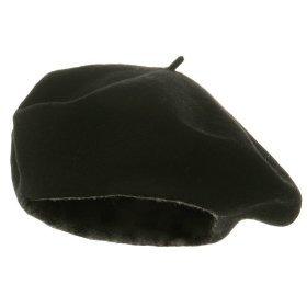 Wool Beret - Black
