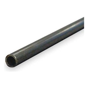 Tubing, Seamless, 1/2 In, 6 Ft, 1010 Carbon