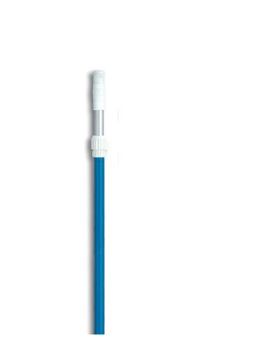 Hydro Tools 8351 6- To 12-Foot Adjustable Blue Anodized Step-Up Telescopic Pool Pole Outdoor/Garden/Yard Maintenance (Patio & Lawn Upkeep)