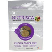 Dogswell Nutrisca Freeze Dried Dinner Bites, Chicken, 14-Ounce Package