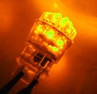 One Pair 3157 AMBER 24 LED Light(2 bulbs) /12V