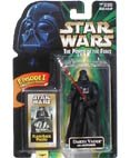 Star Wars Power of the Force Darth Vader with Lightsaber Poto Flashback Episode I
