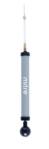 Mitre High Speed Inflator Ball Pump - Grey - One Size