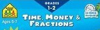 School Zone Interactive - Time, Money & Fractions - Grades 1-2 - 1