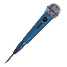 Coby Professional High-Performance Dynamic Microphone with Cannon connector CMP35 (Blue)