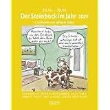 """Der Steinbock im Jahr 2009: Sternzeichen-Cartoonkalendervon """"Johann Mayr"""""""