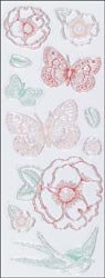 Bulk Buy: Martha Stewart Clear Stamps Vintage Garden (3-Pack)