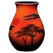 Poole Pottery African Sky Venetian Vase 16cm