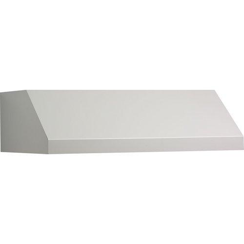 Broan Rp130Ww Pro-Style 30-Inch Range Hood, White front-462130