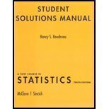 img - for A Student Solutions Manual for First Course in Statistics book / textbook / text book