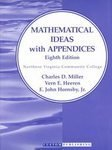 Mathematical Ideas With Appendices for Northern Virginia Community College (0201636409) by Miller, Charles D.