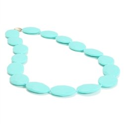 Chewbeads Hudson Necklace In Turquoise front-759375