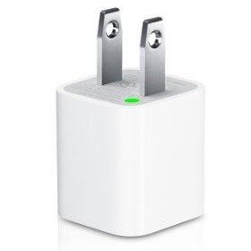 Original Apple USB Power Adapter for iPod, iPhone, iPhone 3G and iPhone 3Gs
