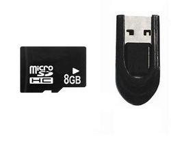 Carte micro SD INTEGRAL + lecteur cl' USB 8 Go