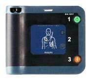 Philips Heartstart FRx Defibrillator Package with carry case