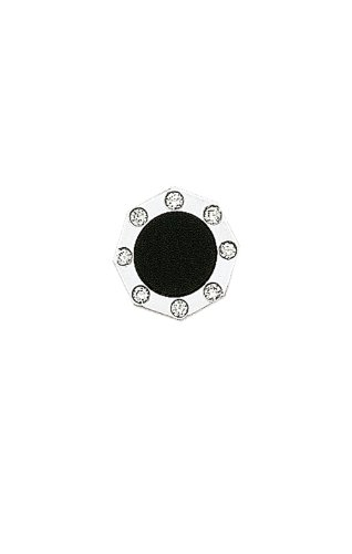 14K White Gold Diamond and Black Onyx Tie Tac-86194