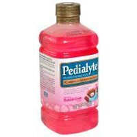 Pedialyte Oral Electrolyte Maintenance Solution, Bubble Gum - 1 ltr each Bottle, 8/ Case