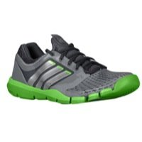 adidas Mens adiPure Trainer 360 9 M US Tech Grey/Metallic Silver/Ray Green