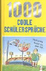 img - for 1000 coole Sch lerspr che. book / textbook / text book