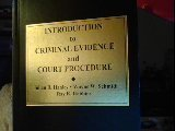 img - for Introduction to Criminal Evidence and Court Procedure book / textbook / text book