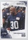 Leon Washington #122/499 Seattle Seahawks (Football Card) 2010 Score Scorecard #203 at Amazon.com