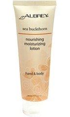 Sea Buckthron Hand & Body Lotion Aubrey Organics 3 Oz Lotion