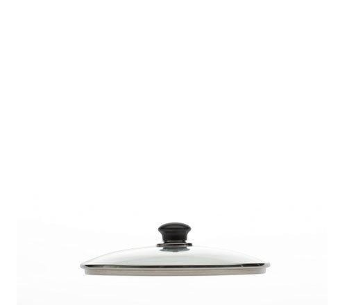 Ballarini Salento Coperchio Vetro con Valvola, Trasparente, Diametro 28 cm