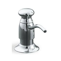 KOHLER K-1894-C-VS Soap or Lotion Dispenser with Traditional Design (Clam Shell Packed), Vibrant Stainless