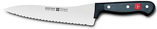 Wusthof Gourmet Offset Handle Bread/Deli Knife, 7-Inch