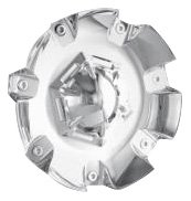 Mr. Lugnut C10197 Chrome Plastic Center Cap for 197 Wheels (Mr. Lugnut)
