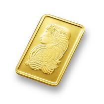 (1 gm) .999 Fine Gold Bar - (With Assay Card)